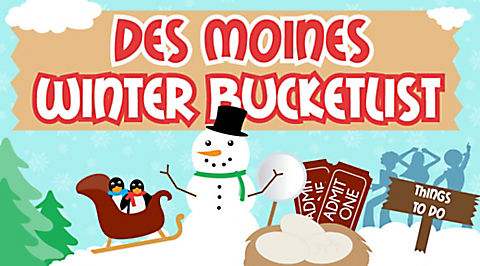 27 Exciting Things to do in Des Moines this Winter