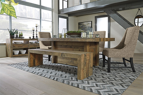 Eco-friendly Reclaimed Wood Furniture