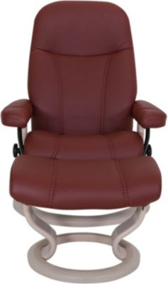 Ekornes Consul Small Chair & Ottoman