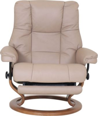 Ekornes Mayfair 100% Leather Large Power Chair