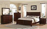 Elements International Group Dawson Creek 4-Piece King Bedroom Set