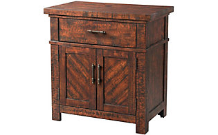 Elements International Group Jax Nightstand