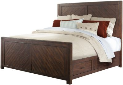 Elements International Group Jax Queen Bed