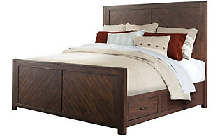 Elements International Group Jax King Bed
