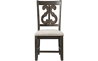 Elements International Group Stone Side Chair