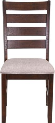 Elements International Group Jax Ladder Back Side Chair
