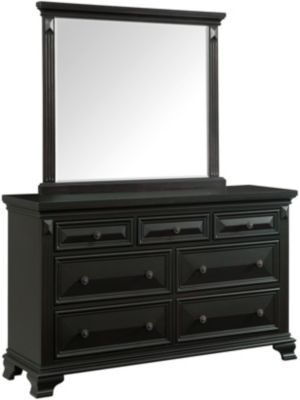 Elements International Group Calloway Dresser With Mirror