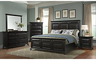 Elements International Group Calloway 4-Piece Queen Bedroom Set