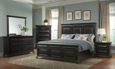 Elements International Group Calloway 4-Piece King Bedroom Set