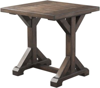 Elements International Group Finn End Table