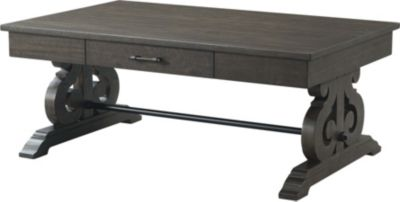 Elements International Group Stone Coffee Table