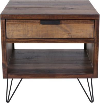 Elements International Group Cruz End Table