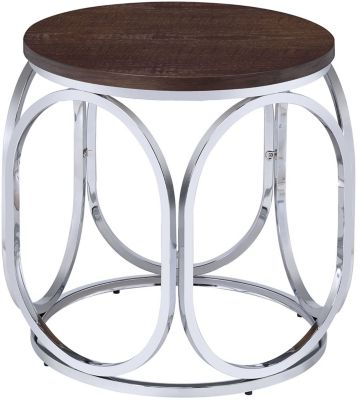 Elements International Group Alexis End Table