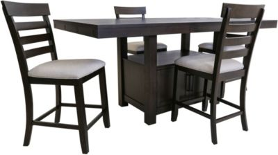 Elements International Group Colorado 5-Piece Counter Set