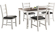 Elements International Group Martin 5-Piece Dining Set