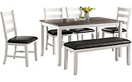 Elements International Group Martin 6-Piece Dining Set