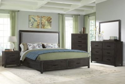 Elements International Group Shelby Queen Bedroom Set