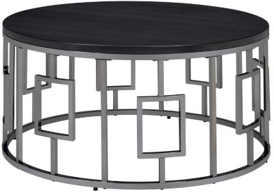 Elements Int'l Group Ester Round Coffee Table