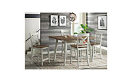 Elements Int'l Group El Paso 5-Piece Counter-Height Dining Set