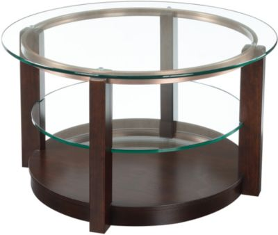 Elements Int'l Group Elsa Round Coffee Table