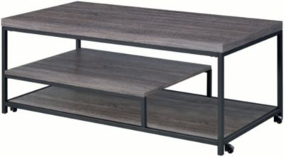 Elements Int L Group Clemens Coffee Table Two End Tables Homemakers Furniture