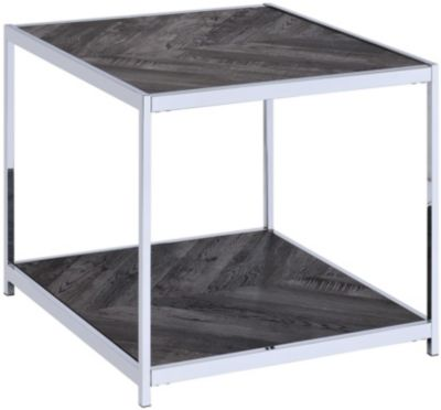 Elements Int'l Group Archer End Table