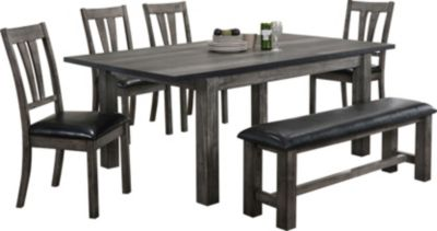 Elements Int'l Group Nathan 6-Piece Dining Set