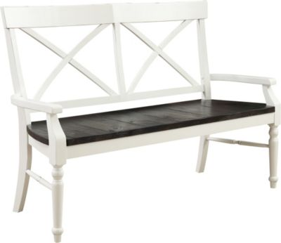 Emerald Home Furniture Mountain Retreat Bench