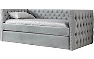 Emerald Home Furniture Paige Upholstered Daybed With Trundle
