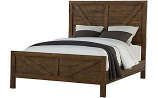 Emerald Home Furniture Pine Valley Queen Bed