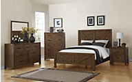 Emerald Home Furniture Pine Valley 4-Piece Queen Bedroom Set
