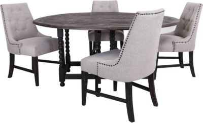 Emerald Home Furniture Wallingford 5-Piece Dining Set