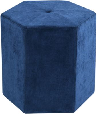 Emerald Home Furniture Blair Collection Cube Ottoman