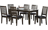 Emerald Home Furniture Ash Grove 7-Piece Dining Set