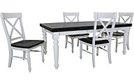 Emerald Home Furniture Mountain Retreat 5-Piece Dining Set