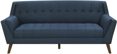 Emerald Home Furniture Binetti Navy Sofa