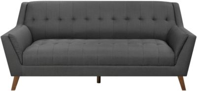 Emerald Home Furniture Binetti Charcoal Sofa