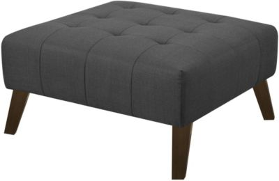 Emerald Home Furniture Binetti Charcoal Ottoman