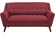 Emerald Home Furniture Binetti Red Loveseat