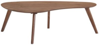 Emerald Home Furniture Simplicity Curved Coffee Table