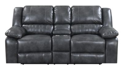 Emerald Home Furniture Navaro Reclining Console Loveseat