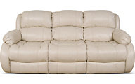 England Litton 100% Leather Reclining Sofa
