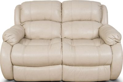 England Litton Leather Power Reclining Loveseat