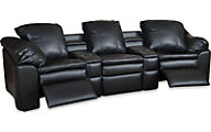 England Lackawanna 5-Piece Leather Reclining Sectional