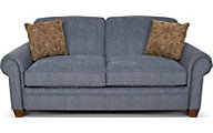 England Philip Steel Blue Full Sleeper Sofa
