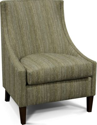 England Devin Striped Accent Chair