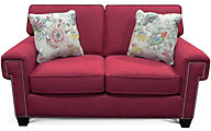 England Yonts Pink Loveseat