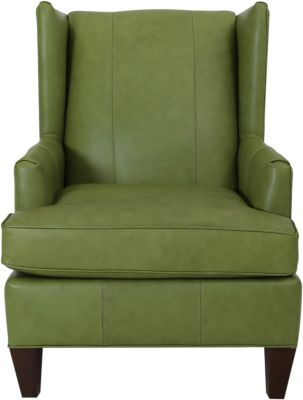 England Roxy 100% Leather Accent Chair