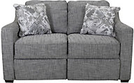 England Quentin Loveseat with Power Ottoman