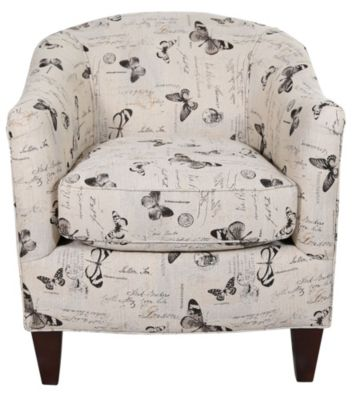 England Keely Barrel Accent Chair